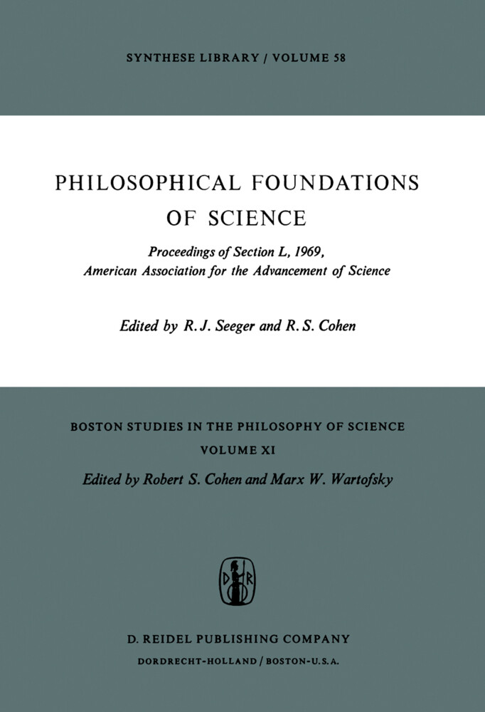 Philosophical Foundations of Science als Buch