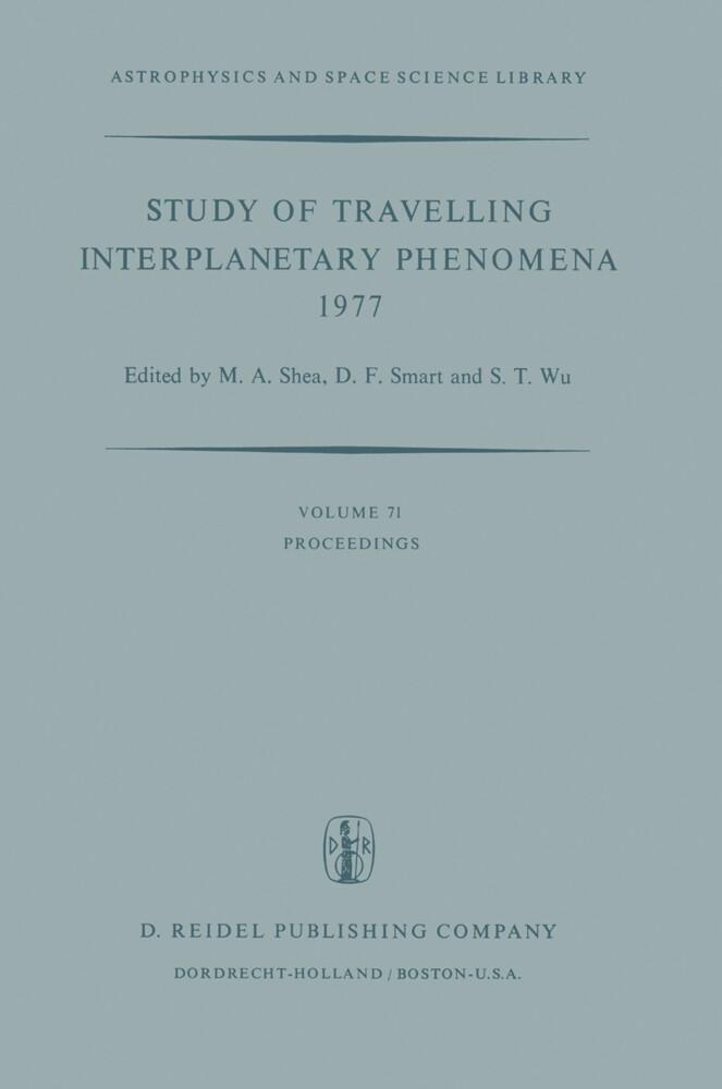 Study of Travelling Interplanetary Phenomena 1977 als Buch