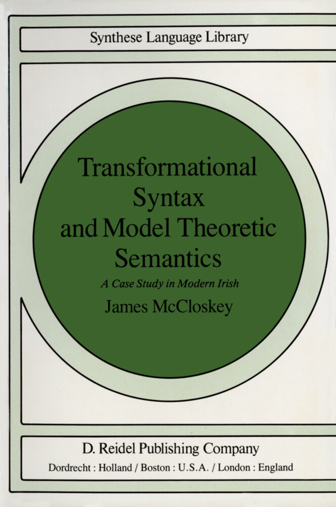 Transformational Syntax and Model Theoretic Semantics als Buch