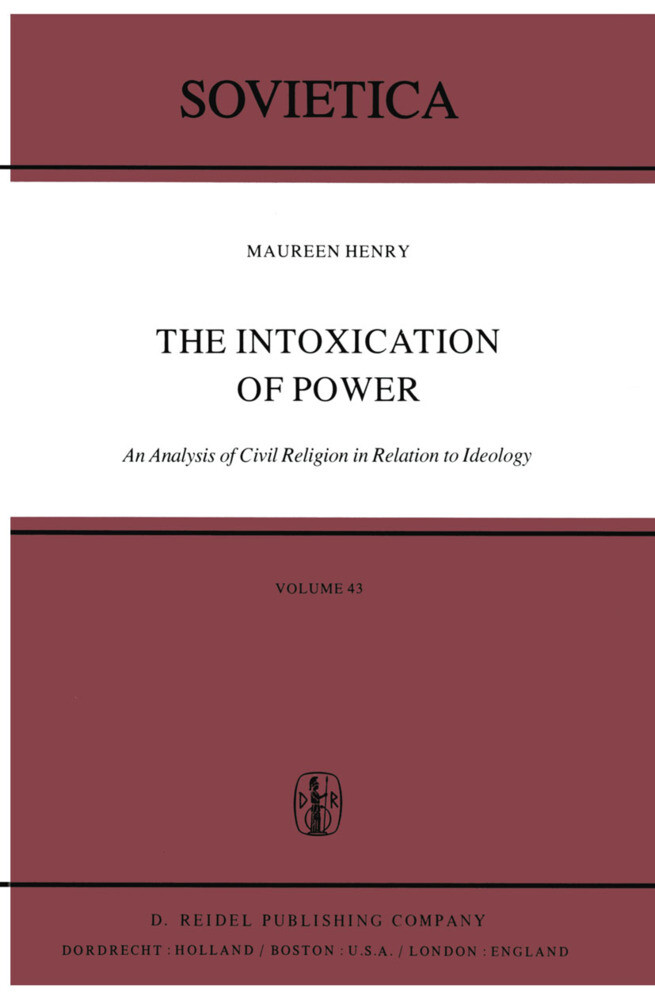 The Intoxication of Power als Buch