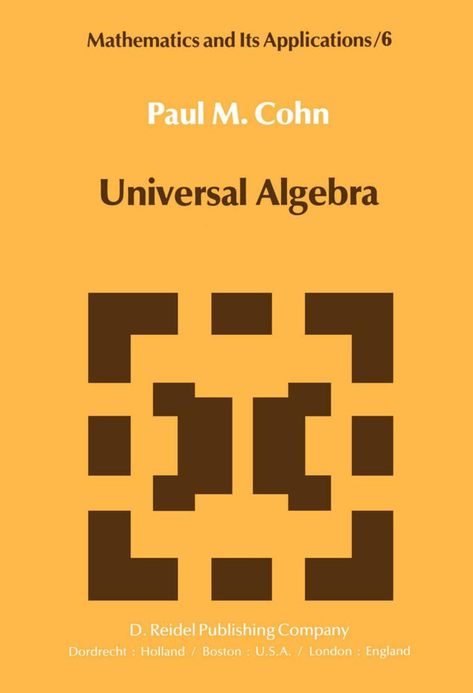 Universal Algebra als Buch