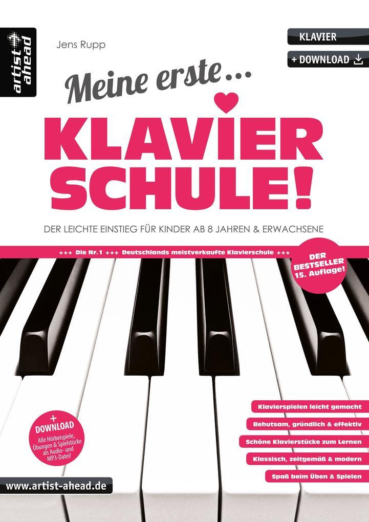 Meine erste Klavierschule! als Buch