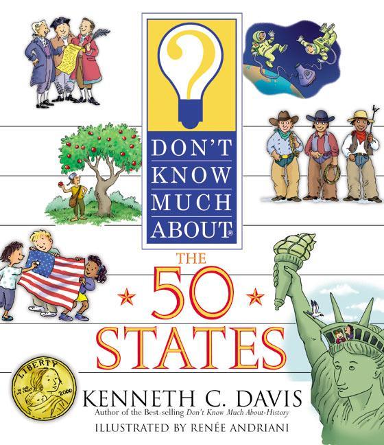 Don't Know Much about the 50 States als Taschenbuch