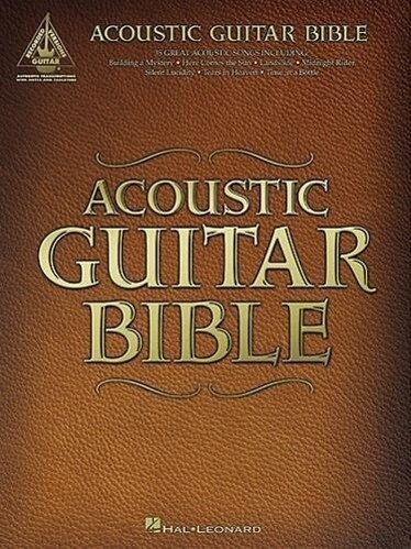 Acoustic Guitar Bible: Guitar Recorded Versions als Taschenbuch