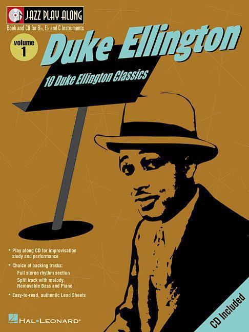 Duke Ellington: Jazz Play-Along Volume 1 [With CD] als Taschenbuch