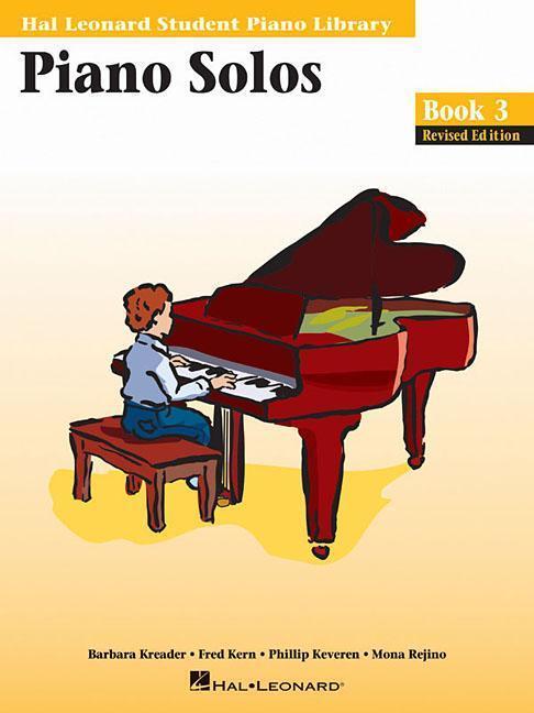Piano Solos - Book 3: Hal Leonard Student Piano Library als Taschenbuch