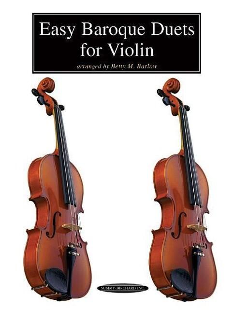 Easy Baroque Duets for Violin als Taschenbuch