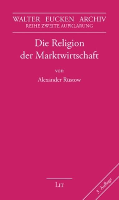 Die Religion der Marktwirtschaft als Buch