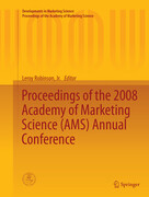 Proceedings of the 2008 Academy of Marketing Science (AMS) Annual Conference