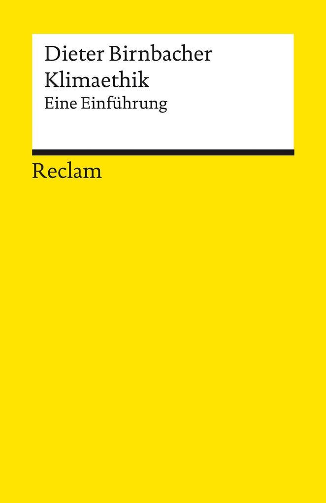 Klimaethik als eBook
