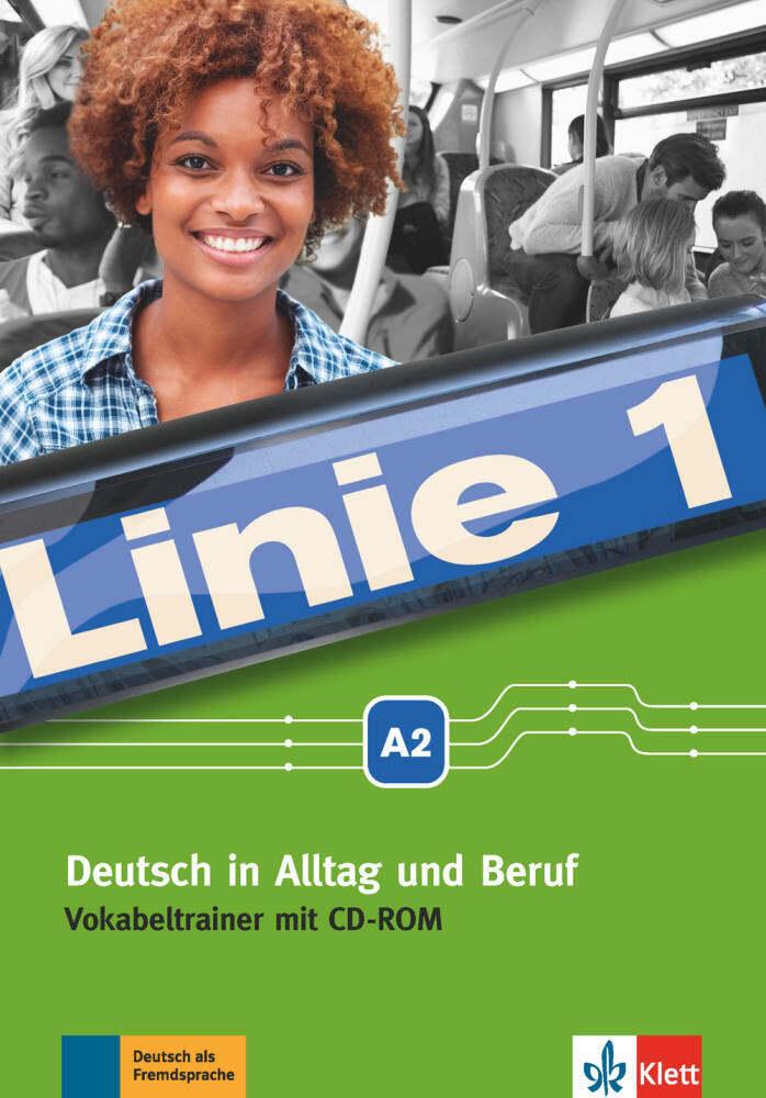 Linie 1 A2. Vokabeltrainer mit CD-ROM als Buch von