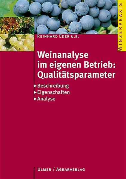 Weinanalyse im eigenen Betrieb: Qualitätsparameter als Buch