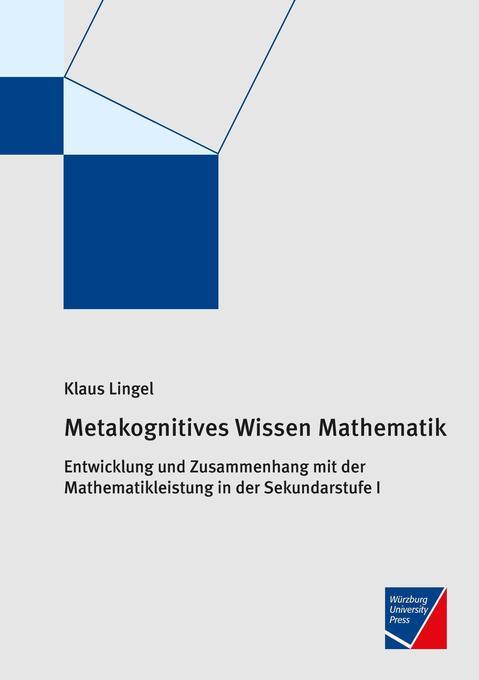 Metakognitives Wissen Mathematik als Buch von K...