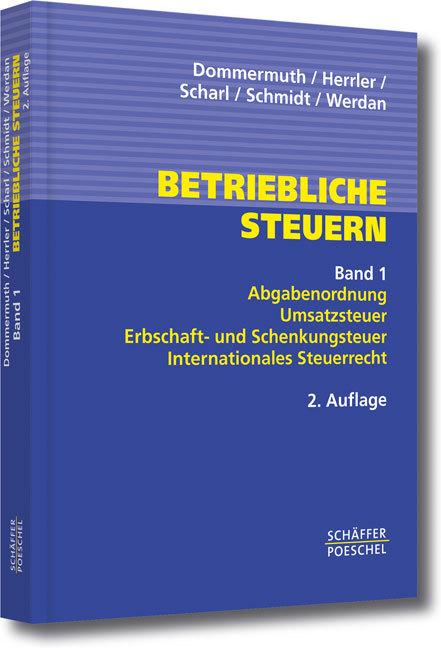 Betriebliche Steuern 1 als Buch