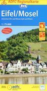 ADFC-Regionalkarte Eifel/ Mosel mit Tagestouren-Vorschlägen, 1:75.000