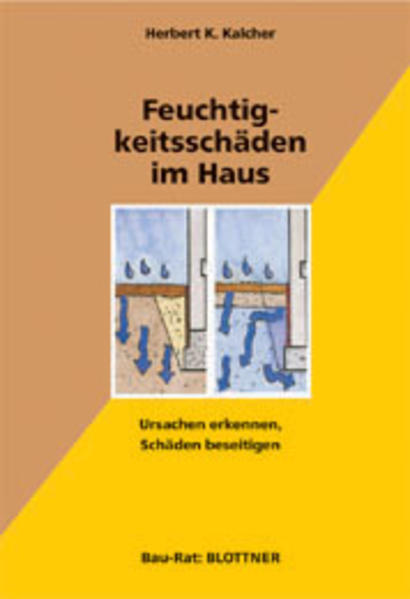 Feuchtigkeitsschäden im Haus als Buch