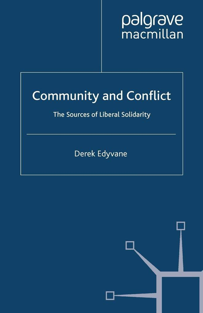 Community and Conflict als eBook Download von D...