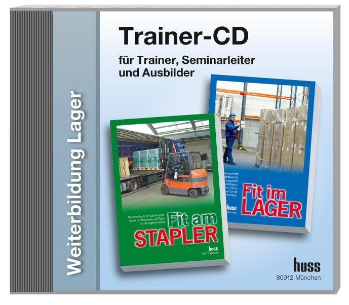 Trainer-CD Weiterbildung Lager, 1 CD-ROM