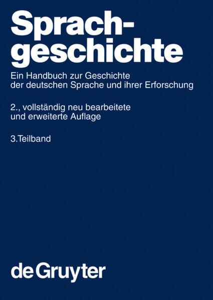 Sprachgeschichte 3 als Buch