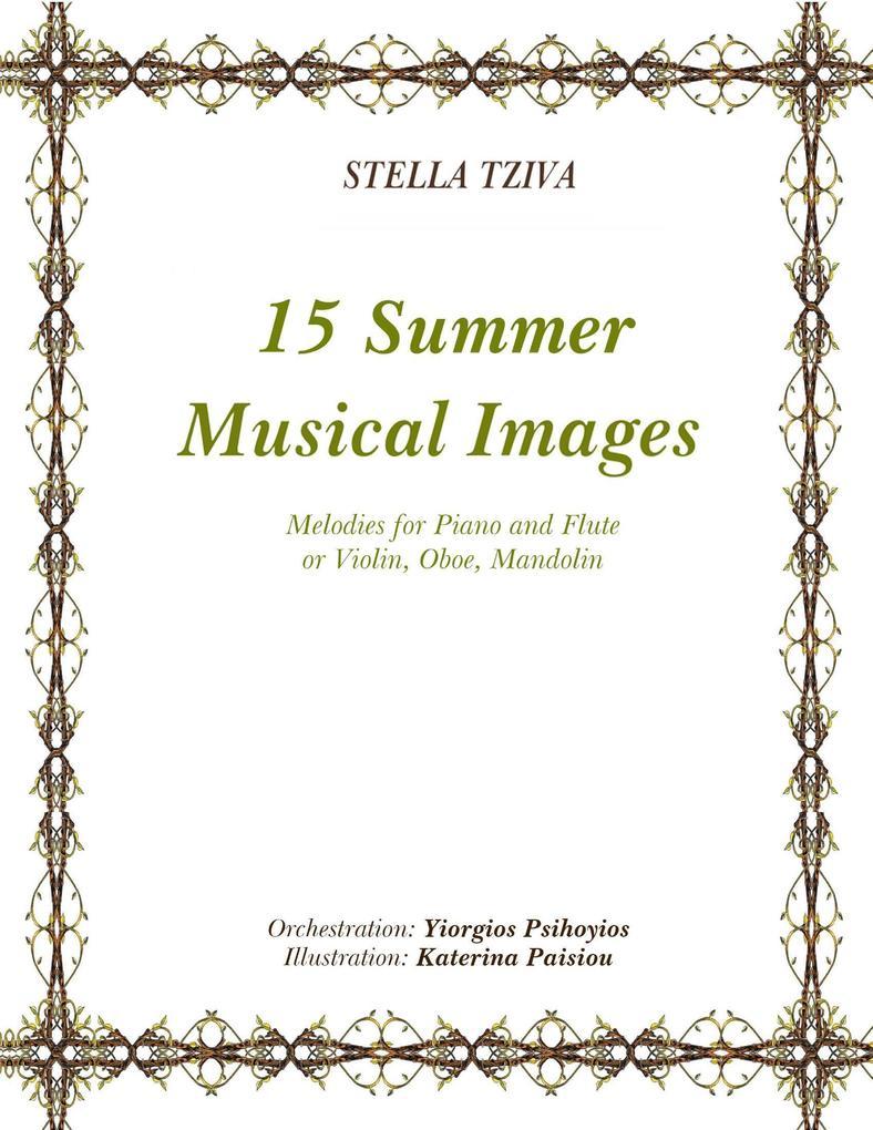 15 Summer Musical Images als eBook Download von...