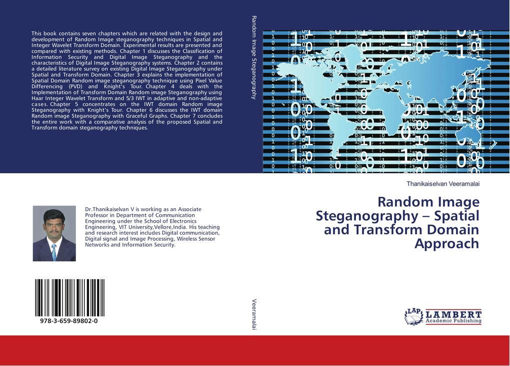 Random Image Steganography - Spatial and Transf...