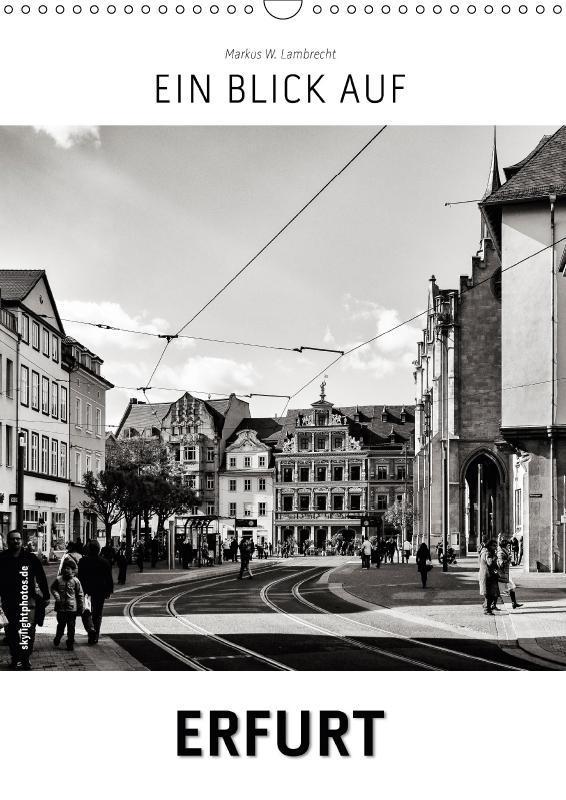 Ein Blick auf Erfurt (Wandkalender 2017 DIN A3 ...