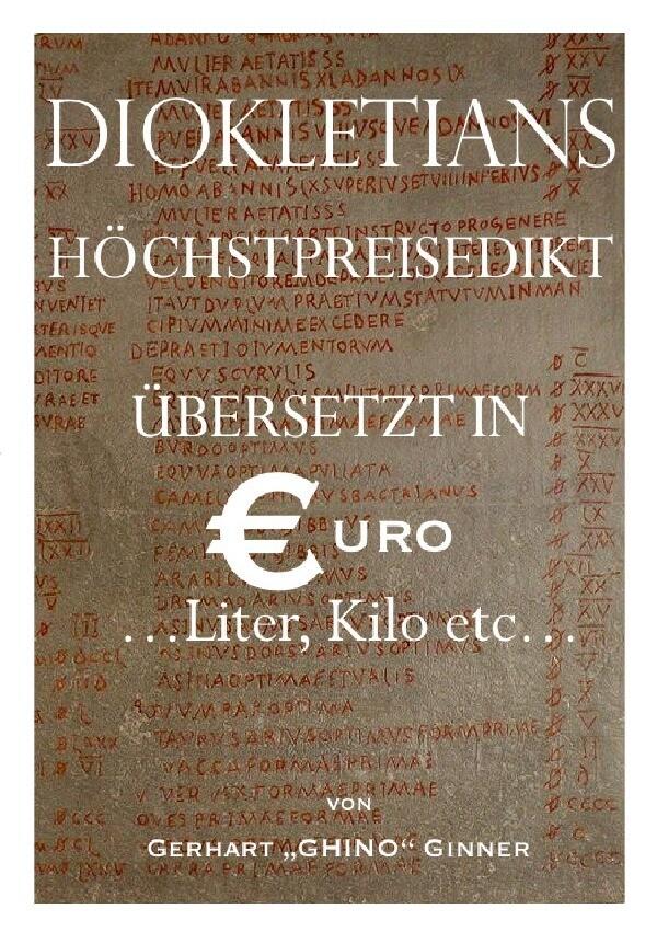 Diokletians Höchstpreisedikt in Euro, Liter & Kilo als Buch (kartoniert)