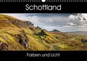 Schottland Farben und Licht (Wandkalender 2017 DIN A3 quer)