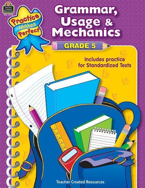 Grammar, Usage & Mechanics Grade 5 als Taschenbuch