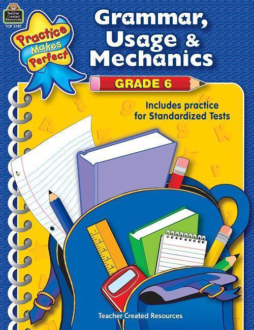 Grammar, Usage & Mechanics Grade 6 als Taschenbuch