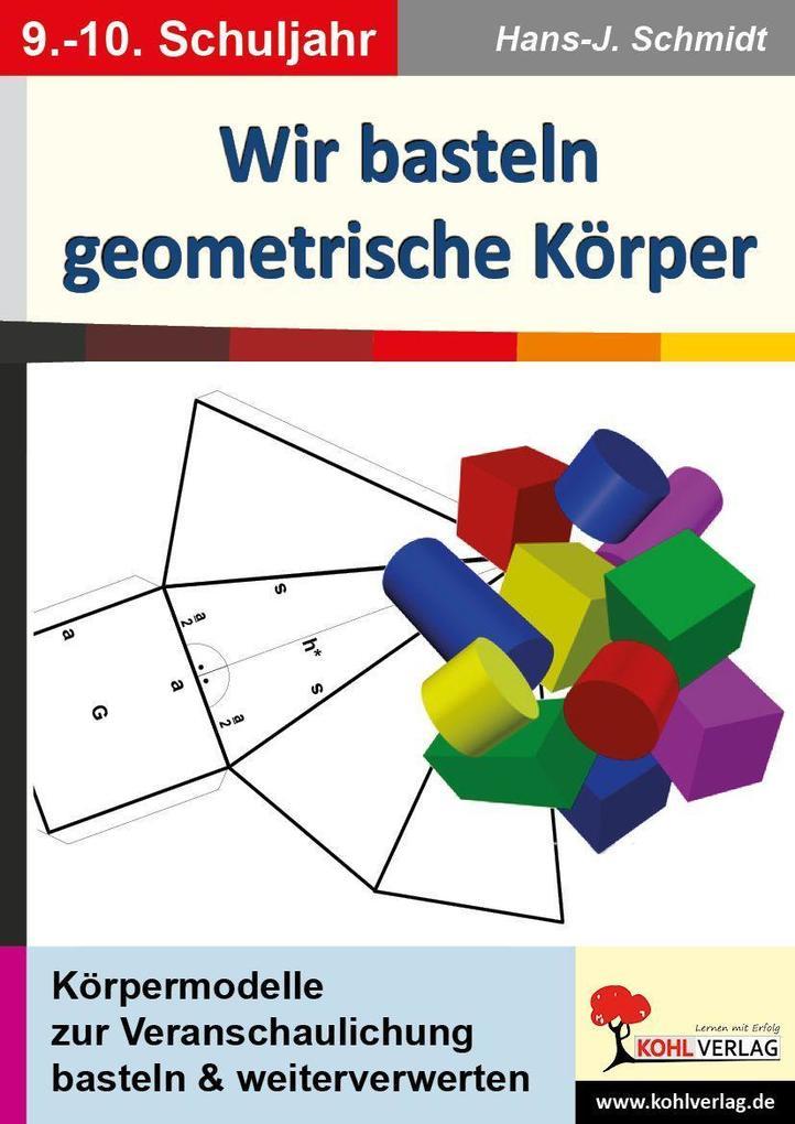 Wir basteln geometrische Körper als Buch von Ha...