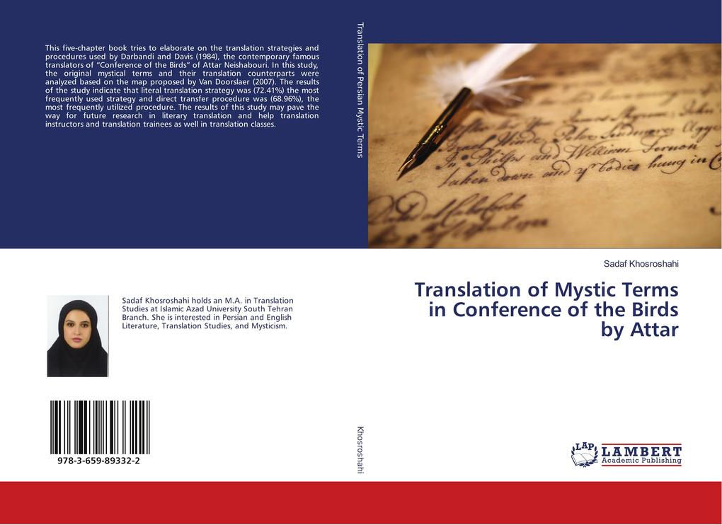 Translation of Mystic Terms in Conference of th...
