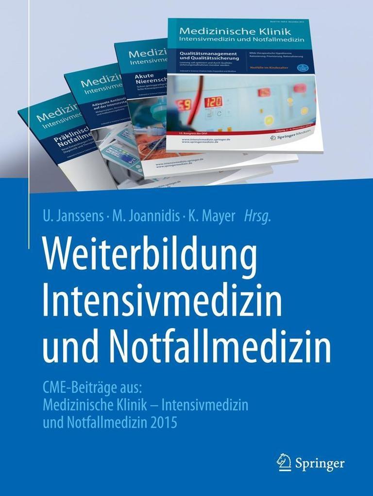 Weiterbildung Intensivmedizin und Notfallmedizi...
