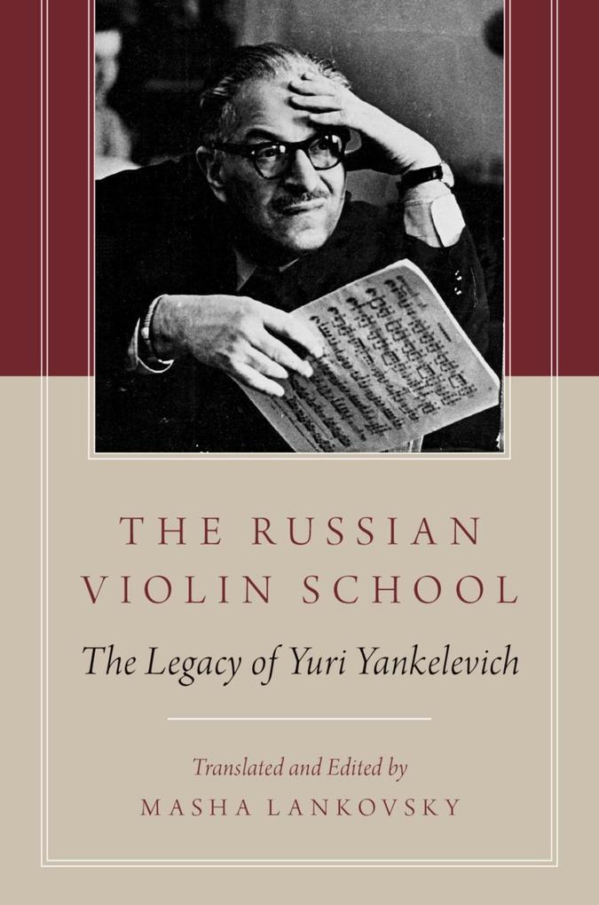 The Russian Violin School als eBook Download von