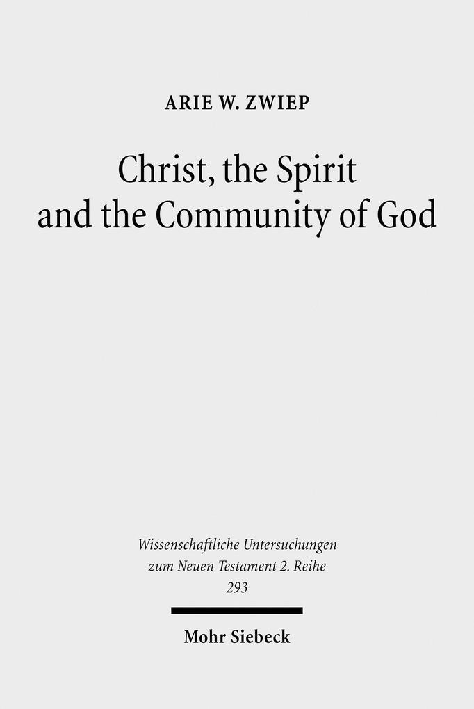 Christ, the Spirit and the Community of God als...
