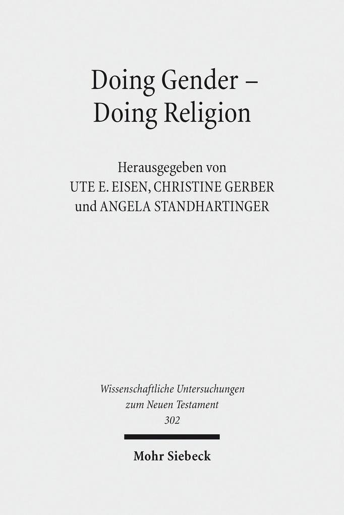 Doing Gender - Doing Religion als eBook Downloa...
