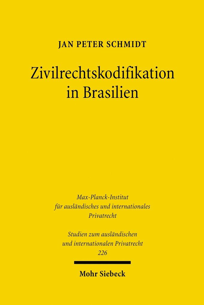 Zivilrechtskodifikation in Brasilien als eBook ...