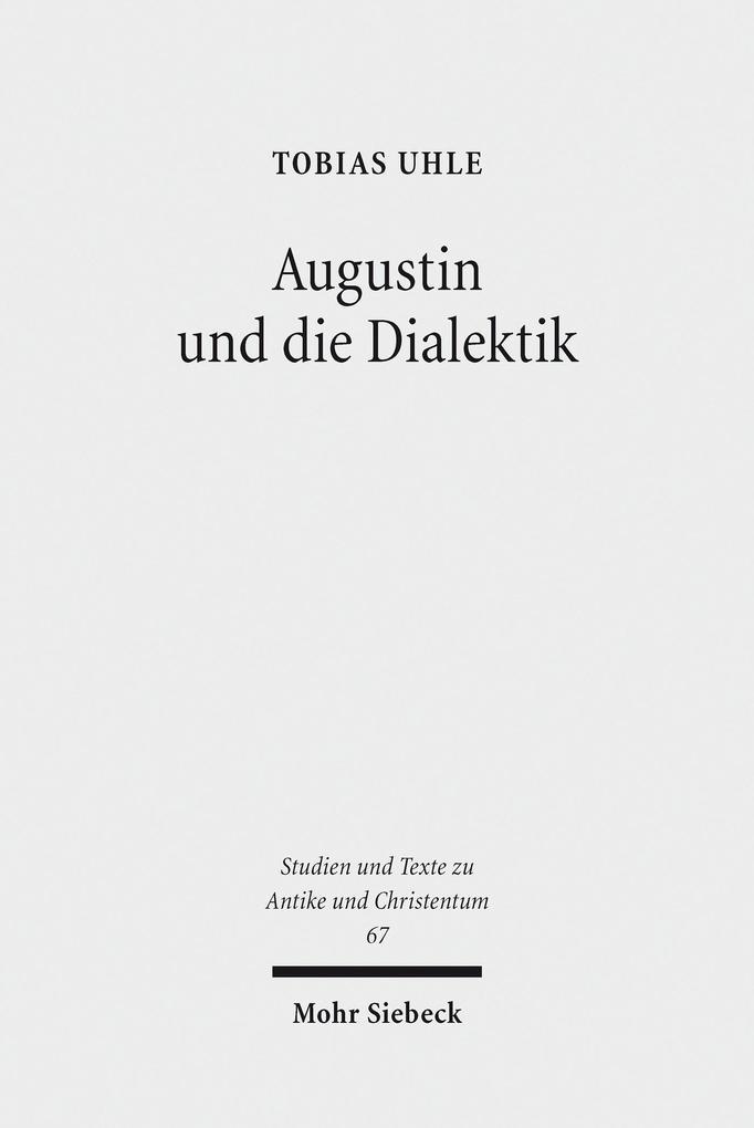 Augustin und die Dialektik als eBook Download v...