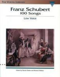 Franz Schubert - 100 Songs: The Vocal Library [With CD] als Taschenbuch