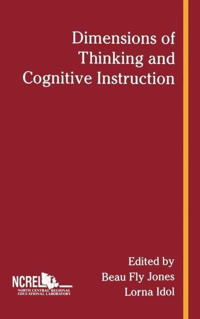 Dimensions of Thinking and Cognitive Instruction als Buch
