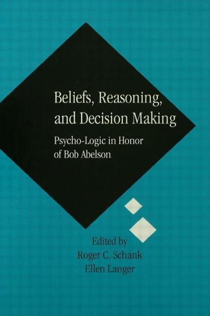 Beliefs Reasoning and Decision als Buch