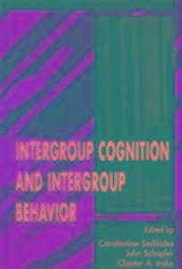 Intergroup Cognition and Intergroup Behavior als Buch