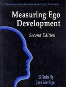 Measuring Ego Development als Buch
