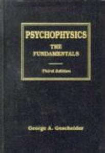 Psychophysics als Buch