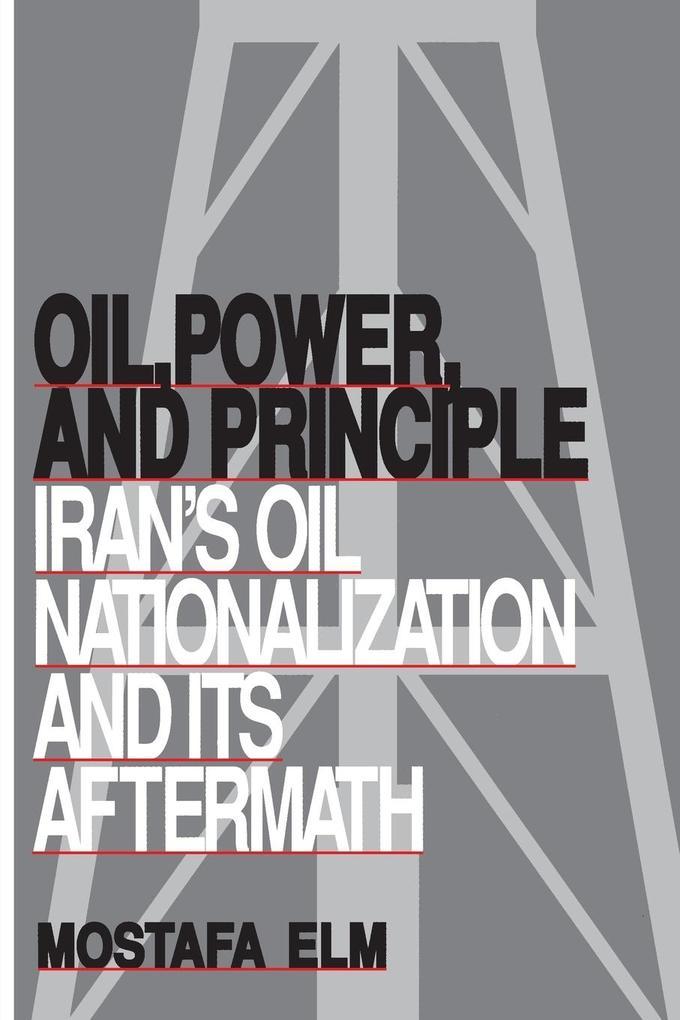 Oil, Power, and Principle als Taschenbuch