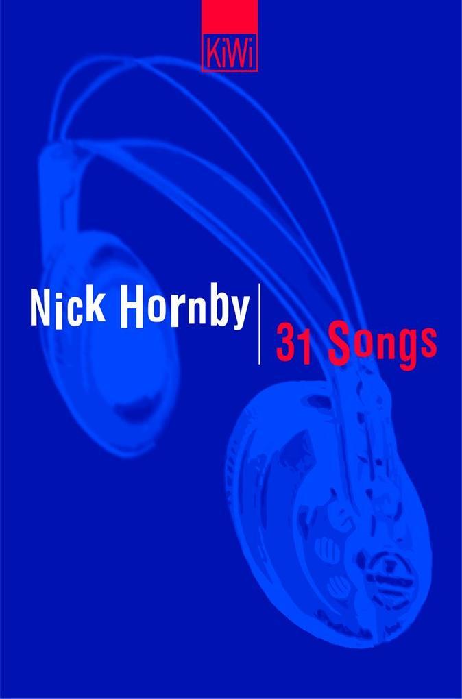31 Songs als Taschenbuch