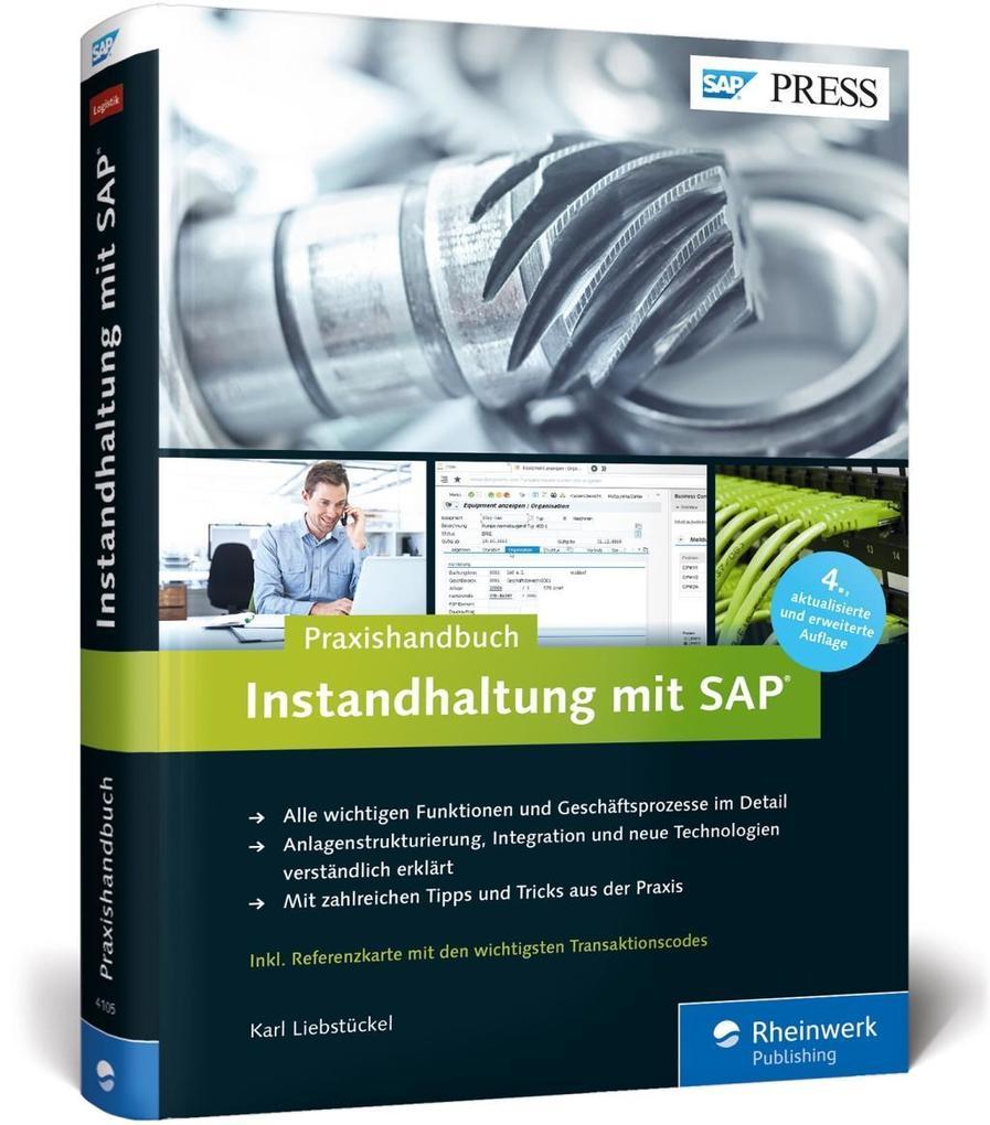 Instandhaltung mit SAP als Buch von Karl Liebst...