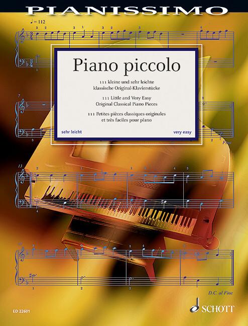 Piano piccolo als Buch von