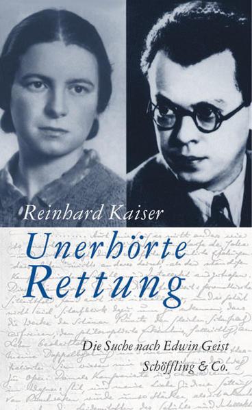 Unerhörte Rettung als Buch von Reinhard Kaiser
