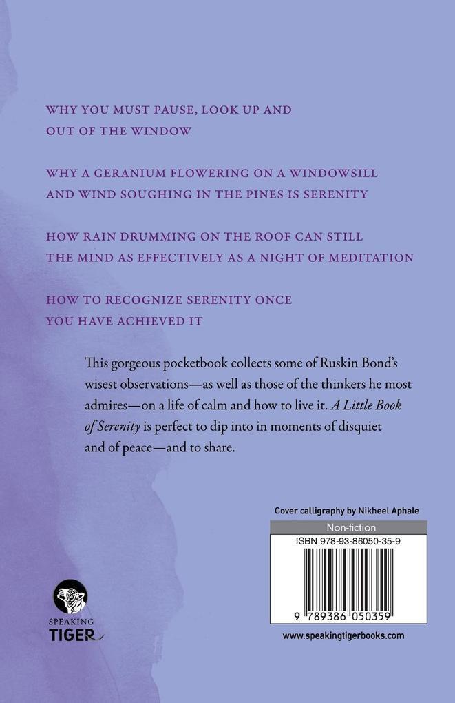 A Little Book of Serenity als Taschenbuch von R...